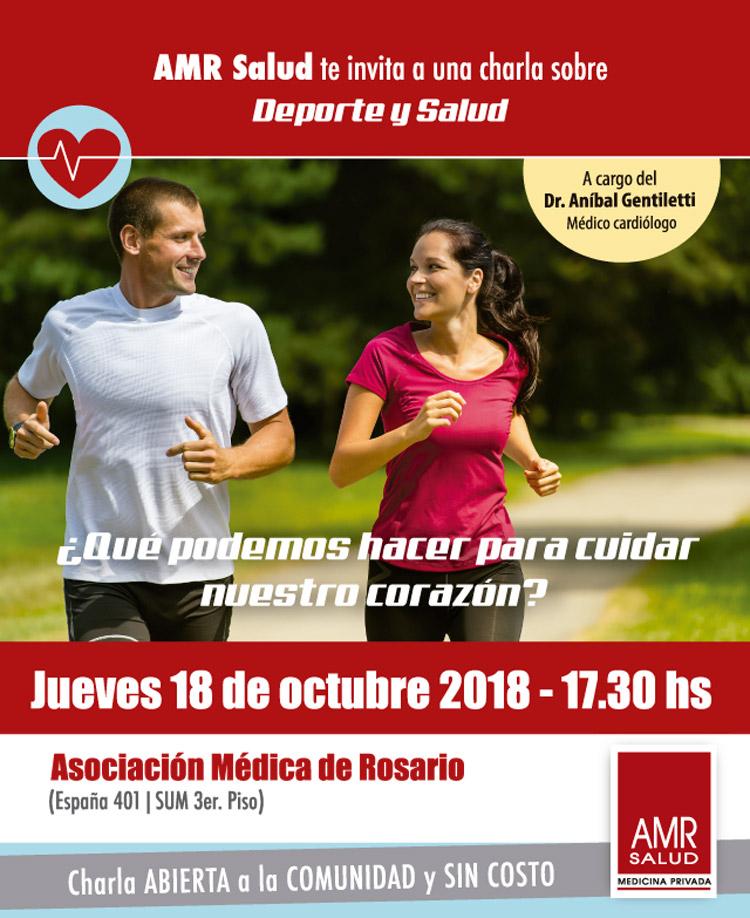 Charla Deporte y Salud