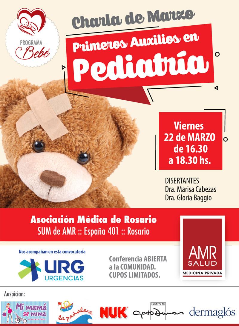 Primeros auxilios en pediatria