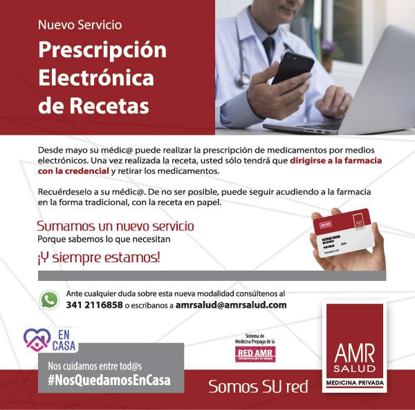 Prescripción electrónica de recetas