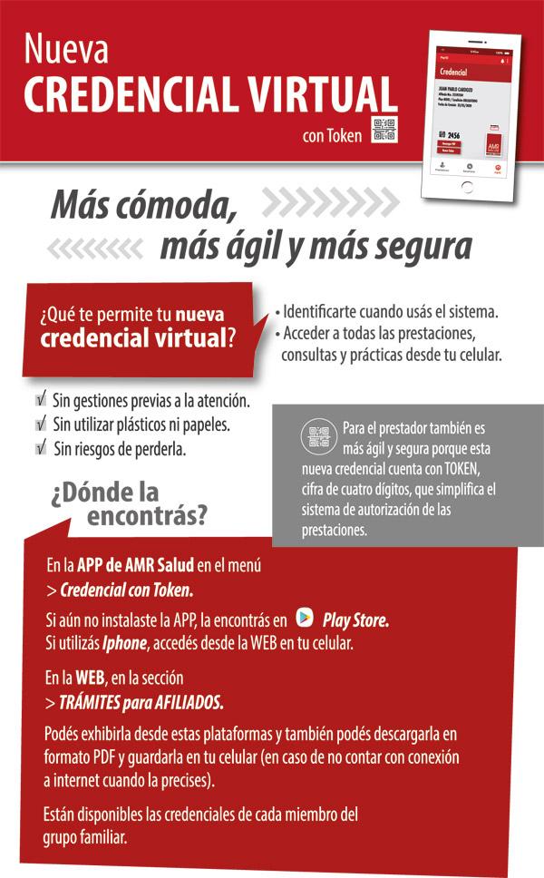 Nueva credencial virtual