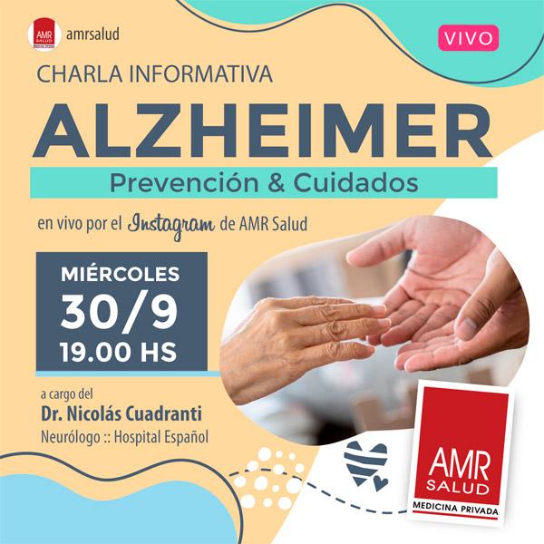 Alzheimer, prevención y cuidados
