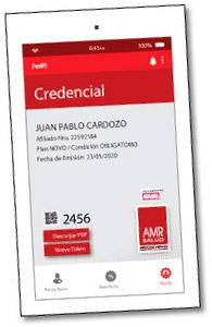 Credencial AMRSalud