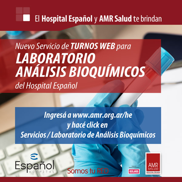 Laboratorio Análisis Bioquímicos